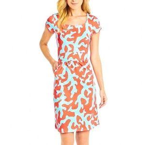 J. MCLAUGHLIN Emma Catalina Cloth Printed Dress